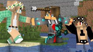 Download Diamond man life 19 - Minecraft Animations Video