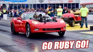 Download The Auction Corvette Attempts an 8 SECOND PASS! (+ Project Neighbor Fire) Video