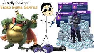 Download Casually Explained: Video Game Genres Video