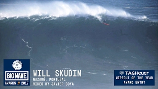 Download Will Skudin at Nazaré - 2017 TAG Heuer Wipeout of the Year Entry - WSL Big Wave Awards Video