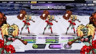 Download Mutants Genetic Gladiators - Batallas 90 - 100 PVE ″Attack Britany″ Video