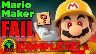 Download GTLive: Mario Maker Pro Tip FAIL! (COMPLETE) Video