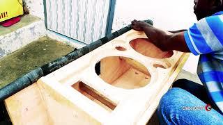Download Ghana Technology Wizkid builds a compact DJ speaker - pt 2 Video