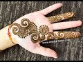 Download QUICK MEHNDI HENNA DESIGN TO TRY | 2018 BEST EASY MEHENDI DESIGN ONLINE Video
