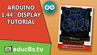 Download Arduino Tutorial: Using the 1.44″ Color TFT display (ILI9163C) with Arduino Video