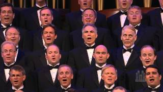 Download Men of the Mormon Tabernacle Choir sing ″You Raise Me Up″ Video