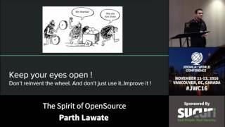 Download JWC 2016 - The Spirit of OpenSource - Parth Lawate Video