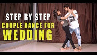 Download Couple Dance Step For Wedding & Party | Easy Salsa | Vicky Patel Dance Tutorial Video