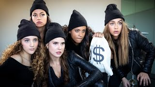 Download Bank Robbery Gone Wrong (ft. Amanda Cerny, Inanna Sarkis, Sofie Dossi & Andrea Russett) Video