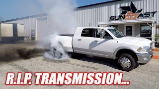 Download How I RUINED My Diesel's Transmission... Don't Ever Try This! Video