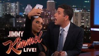 Download Kim Kardashian West Teaches Jimmy Kimmel How To Take a Selfie Video