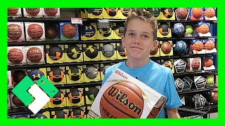 Download INDOOR BASKETBALL SHOPPING (Day 1601) | Clintus.tv Video