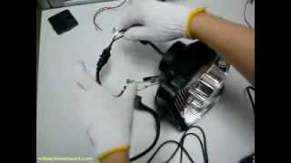 Download Motorcycle HID Projector Installation Guide Motorcycle Headlight Retrofit KT-MT5 Video
