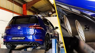 Download Fitting a LOUD Akrapovic Exhaust to my Golf R! Video