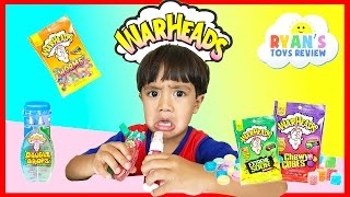 Download EXTREME WARHEADS CHALLENGE Sour Candy Video