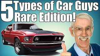 Download 5 Types of Car Guys | Rare Edition! Video