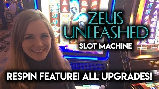 Download What Happens if you Get All Upgrades on Zeus Unleashed Slot Machine? Video