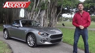 Download Fiat 124 Spider 2017 - Prueba A Bordo Completa Video