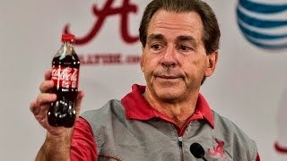 Download Nick Saban uses a Coke bottle to explain Kirby Smart Video