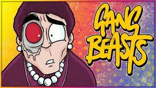 Download Gang Beasts Funny Moments: Granny Beat Down, I'm Too Good & Funny Truck Glitch! Video