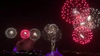 Download 2016 Holiday Wishes Finale | Magic Kingdom | View from the Contemporary Resort Video