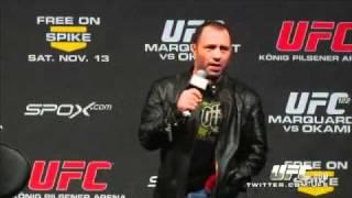 Download Joe Rogan get called a Bitch at UFC 122 Video