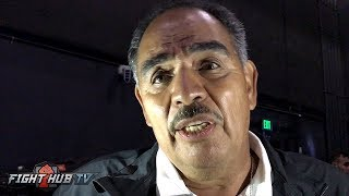 Download Abel Sanchez ″Lomachenko eats up Mikey Garcia! Rigondeaux is too small!″ Video