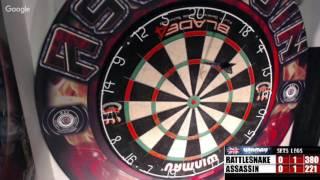 Download Rattlesnake vs Assassin -WDA Darts Video