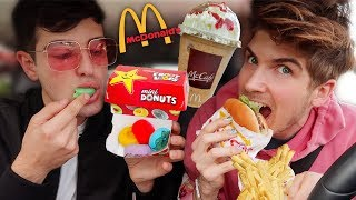 Download Letting The Person In Front Of Me Decide What I Eat! (Fast Food) Video