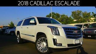 Download 2018 Cadillac Escalade ESV Platinum 6.2 L V8 Review Video