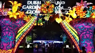 Download Dubai garden glow Video