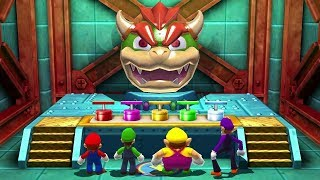 Download Mario Party The Top 100 MiniGames - Mario Vs Luigi Vs Wario Vs Waluigi (Master CPU) Video