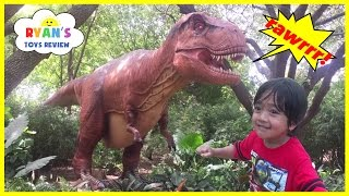 Download GIANT LIFE SIZE DINOSAUR Theme Park at the Zoo! Video