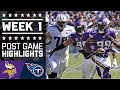 Download Vikings vs. Titans   NFL Week 1 Game Highlights Video
