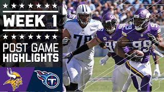 Download Vikings vs. Titans | NFL Week 1 Game Highlights Video