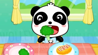 Download Baby Panda Healthy Eater - Baby's Diet 🍀 Kids Learn To Eat Healthy Food - Educational Babybus Games Video