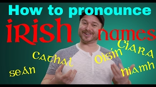 Download How to Pronounce Irish Names 🗣️👂🇮🇪☘️ (and other Irish words): A quick guide Video