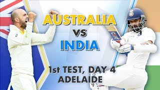 Download Australia vs India, 1st Test, Day 4: Match Story Video