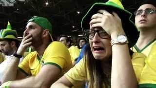 Download BBC FIFA World Cup 2014 - Reaction to Brazil's humiliating 7-1 loss to Germany Video