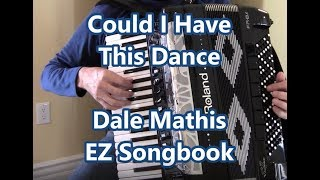 Download Roland Accordion Could I Have This Dance EZ Songbook Video