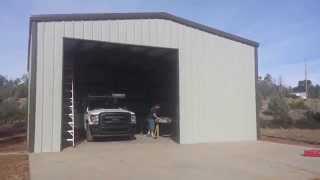 Download Steel Storage Building 30x40x12 Show Low, AZ Video