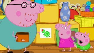 Download Peppa Pig Official Channel | Daddy Pig's Playgroup Star for His Wonderful Picture! Video