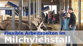 Download Agri Team Winznau - Flexible Arbeitszeiten im Milchviehstall (DeLaval VMS und Optimat) Video