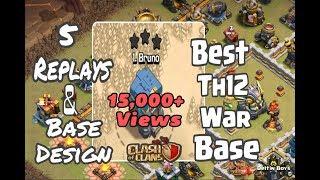 Best Th12 War Bases 2