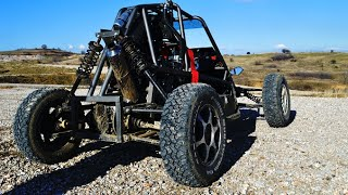 Download Piranha buggy project with CBR 1000f engine part1 Video