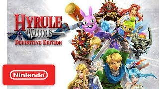 Download Hyrule Warriors: Definitive Edition Launch Trailer - Nintendo Switch Video
