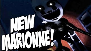 Download Five Nights at Freddys 4 Halloween Edition: NIGHTMARIONNE JUMPSCARE! EXTREMELY CREEPY! NIGHT 7! Video