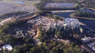 Download Aerial Flyover of Pandora: The World of AVATAR at Disney's Animal Kingdom - December 2016 Video