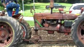 Download 2010 Tippecanoe Steam & Power Plowing IH Tandem H's with plow Video