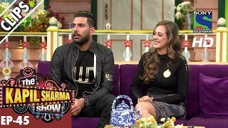 Download Yuvraj Singh and his fiance Hazel Keech - The Kapil Sharma Show - Ep.45 -24th September 2016 Video